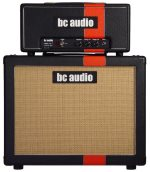BC Audio boutique guitar tube amp head 15w and 1x12 speaker cab